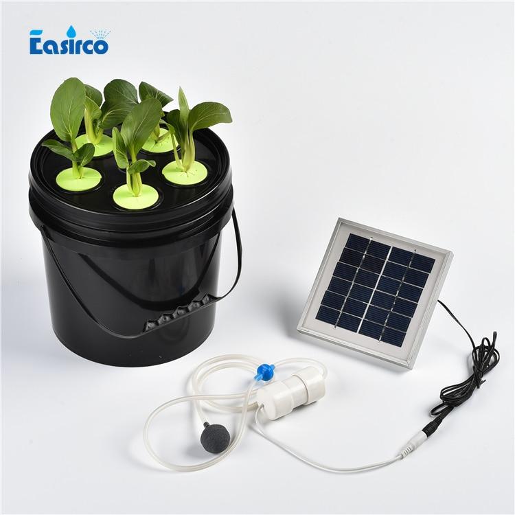 CLONE BUCKET AEROPONIC HYDROPONIC MICRO GROW BLOOM COLLAR CUTTING NUTRIENT PLANT