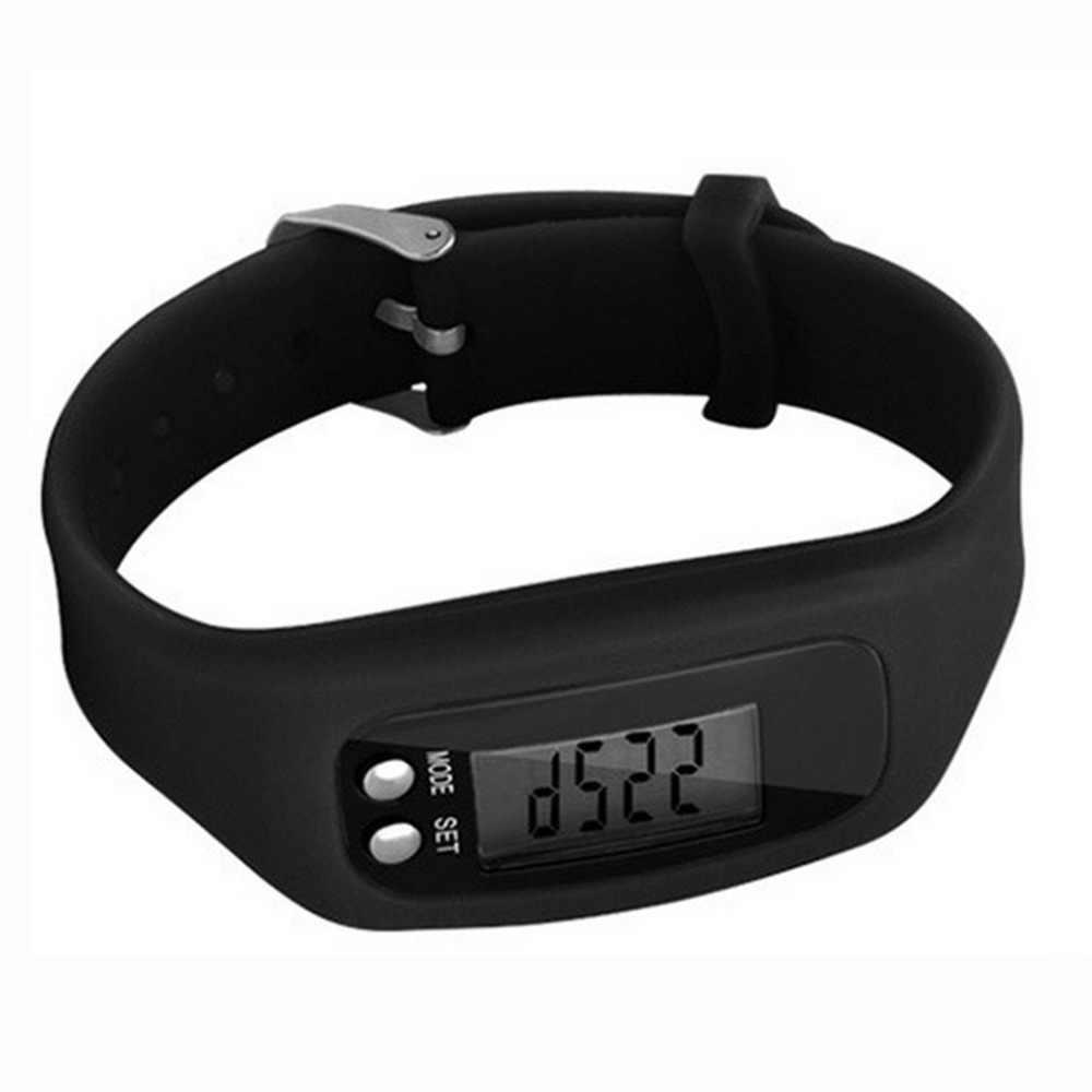 Multifonction Bracelet intelligent podomètre activité Tracker 5 affichage nombres LED en plein air Sport Bracelet santé montre pour adultes
