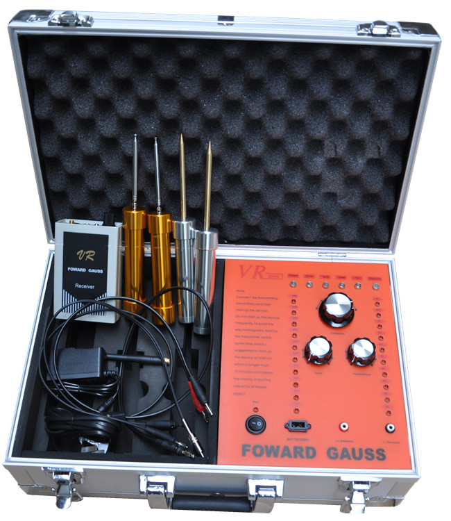 Wholesale VR8000 FORWARD GAUSS Long Range Underground Metal Detector forward gauss metal detector long range gold diamond metal detection vr2000