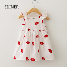 Girls Summer Dress 2016 New Clothes Embroidery Dresses Sleeveless Children Toddler Kids for