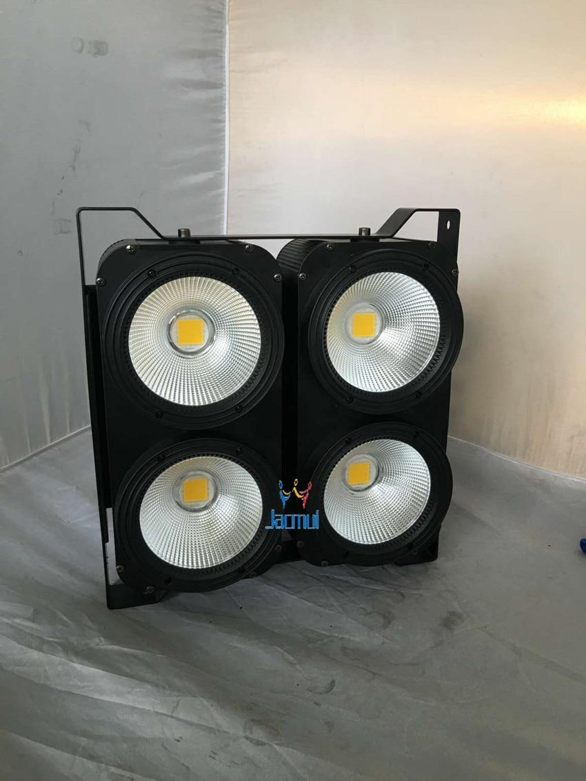 LED Blinder light 4*100w WY 2in1 color led wash light LED COB Audience light /stage light for dj disco club