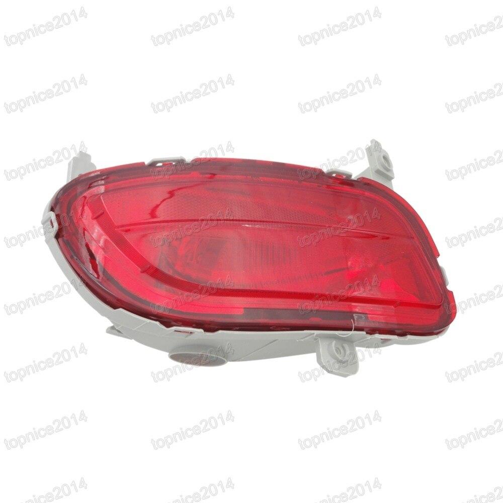 1 Pcs Left Rear Bumper Fog Lamp Tail Fog Light CD85-51-660 For Mazda 5 2008 1pcs lh left side tail fog lamp red rear bumper light cd85 51 660 for mazda 5 2008
