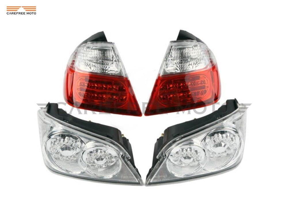 Motorcycle Tail Light Brake Turn Signals With LED Brake Lights case for Honda GoldWind GL1800 2006 2011