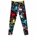 Drop Shipping Hot Women New Pants Womens Trouses Fashion octopus Cotton Blend Pant Capris Black Soft Fitness plus size