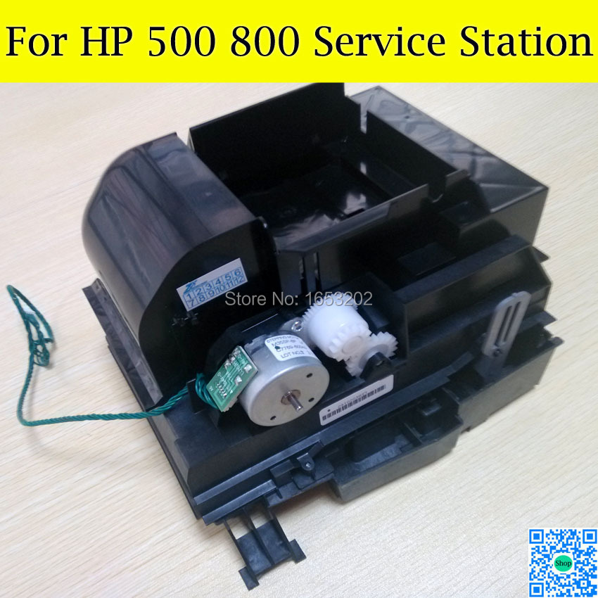 1 PC 100% Original New Service Station C7769-60374 C7769-60149 For HP Designjet 500 510 800 Plotter Printer original designjet 800 800ps plotter gl 2 formatter pc board with hdd firmware c7779 60272 c7779 69272 c7769 60143 c7769 60300