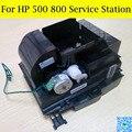 1 PC 100% Original Novo Estação de Serviço Para HP Designjet 500 510 de Impressora Plotter 800 C7769-60374 C7769-60149