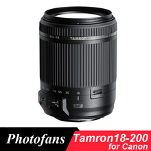 Tamron 18-200 мм объектив с фиксированным фокусным расстоянием для Canon 18-200 f/3,5-6,3 Di II VC (стабилизация изображения EIS) объектив с фиксированным фокусным расстоянием для Canon 1300D 700D 760D 60D 70D T3i T5i