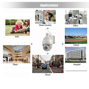 Image 5 - Sricam SP008B 720P Outdoor Ip Camera 5X Digitale Zoom Waterdichte Wifi Cam Alarm Push 2 Weg Audio Draadloze dome Beveiliging Cctv Ptz