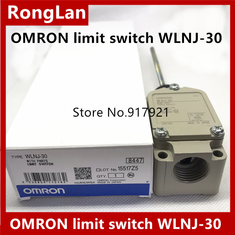 [ZOB]OMRON new original genuine travel 2 loop limit switch WLNJ-30--5PCS/LOT