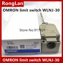 [ZOB]OMRON new original genuine travel 2 loop limit switch WLNJ-30--5PCS/LOT стоимость