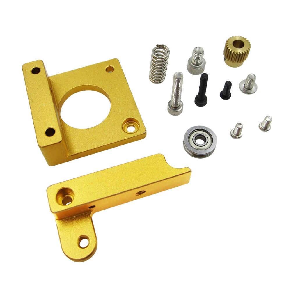1 set MK8 extruder aluminum block DIY kit Makerbot dedicated single nozzle extrusion head aluminum block