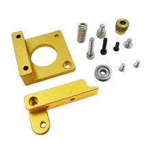 1 комплект MK8 экструдер алюминиевого блока DIY Kit Makerbot посвящен одной экструзии сопла алюминиевая головка блока положительное направление