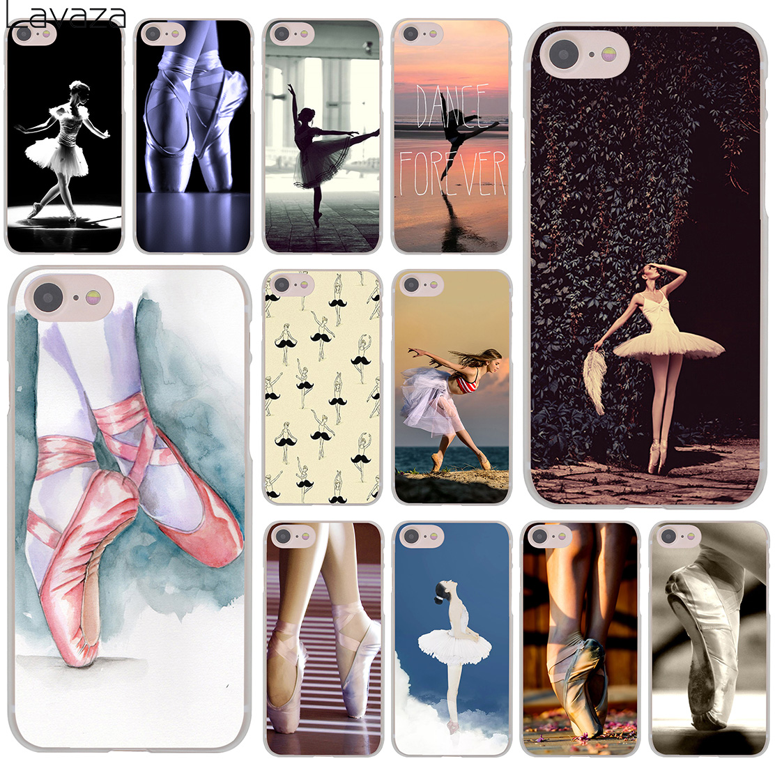 Lavaza Dancing Girl Dance Ballet sneaker Pointe Shoes Hard Phone Case for Apple iPhone X 8 7 6 6S Plus 5 5S SE 5C 4 4S 10 Cover