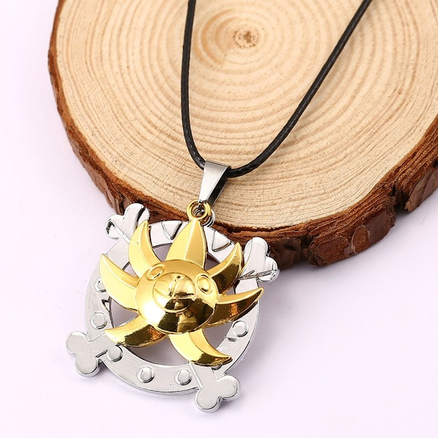 One Piece Bronze Metal Necklace Pendant