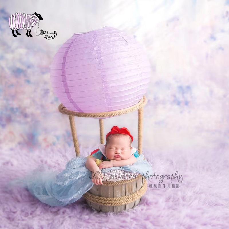 Newborn Baby Photography Fire Balloon Basket Props Baby Photo Shoot