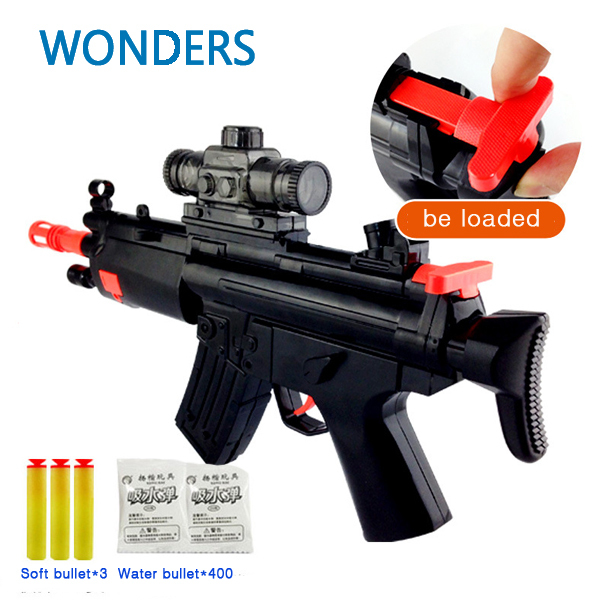 Paintball Gun Soft Bullet Gun Shooting Water Crystal Gun New Model Nerf Air  Gun Airgun with