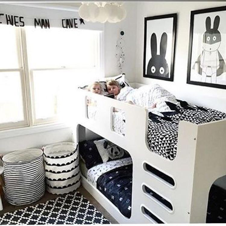 Zakka Bathroom Laundry Hamper Clothing Laundry Baske Kids Toy Clothing Storage Bag Organizer Simple Eco-friendly Home Decoratio