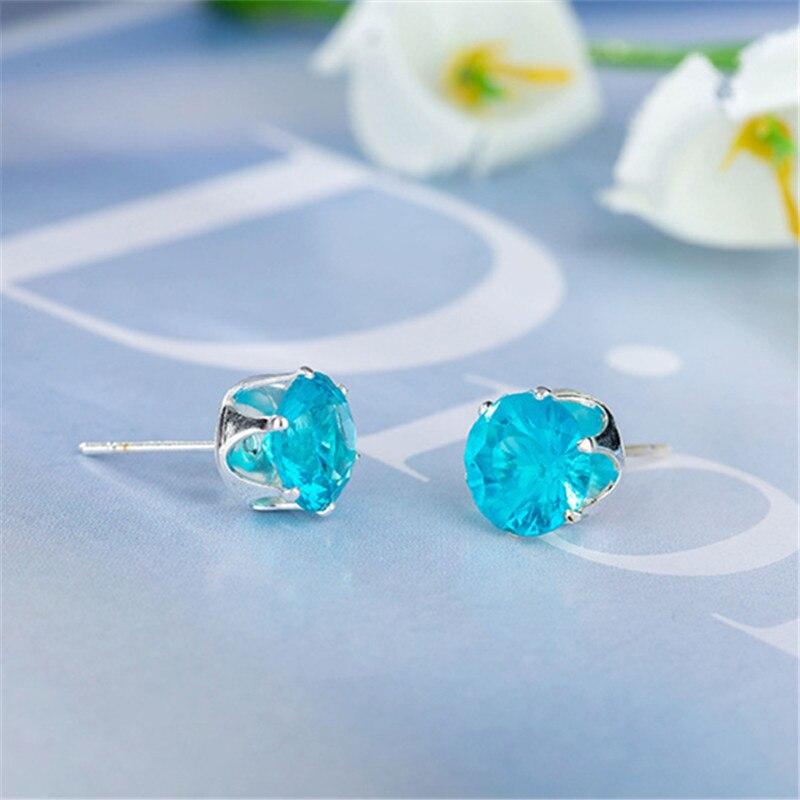 Austrian Crystal Earrings Gift Cheap Jewelry Gold Girls Luxury Women