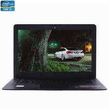 ZEUSLAP-A8 Plus 14inch Intel Core i5 CPU 4GB RAM+64GB SSD+500GB HDD Windows 7/10 System Ultraslim Thin Laptop Notebook Computer