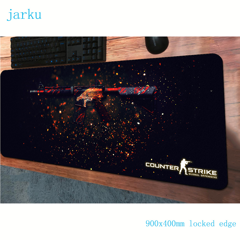 csgo <font><b>padmouse</b></font> <font><b>900x400x3mm</b></font> gaming mousepad game cute large mouse pad gamer computer desk High-end mat notbook mousemat pc image