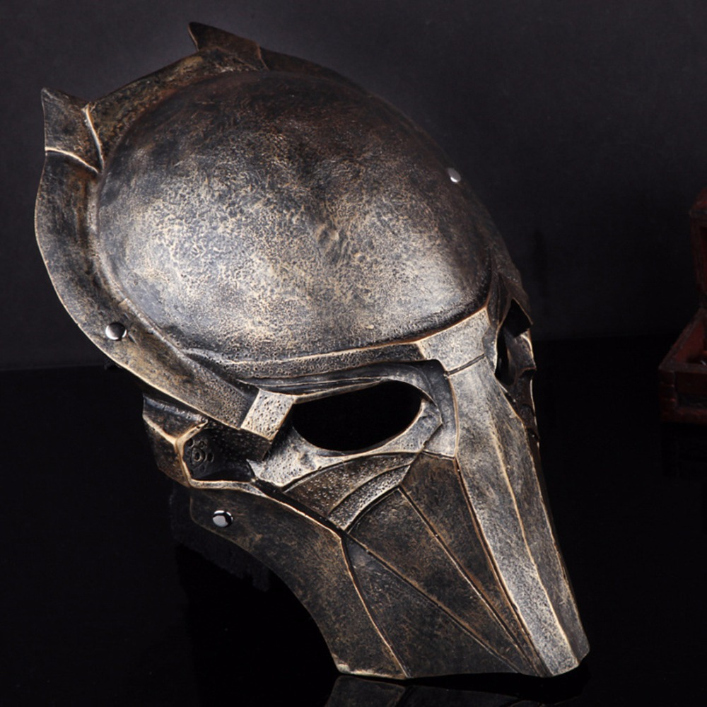 Resin Brown Predator Mask Eagle Mask Mascara Terror Movie Masks ...