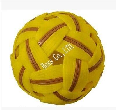 High Quality Free Shipping Sepak Takraw Plastic Ball Sport Ball Cane Ball