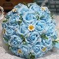 Simulación de la celebración de la boda de la flor de la boda nupcial ramo de flores celebración apoyos flores de la boda ramos de novia