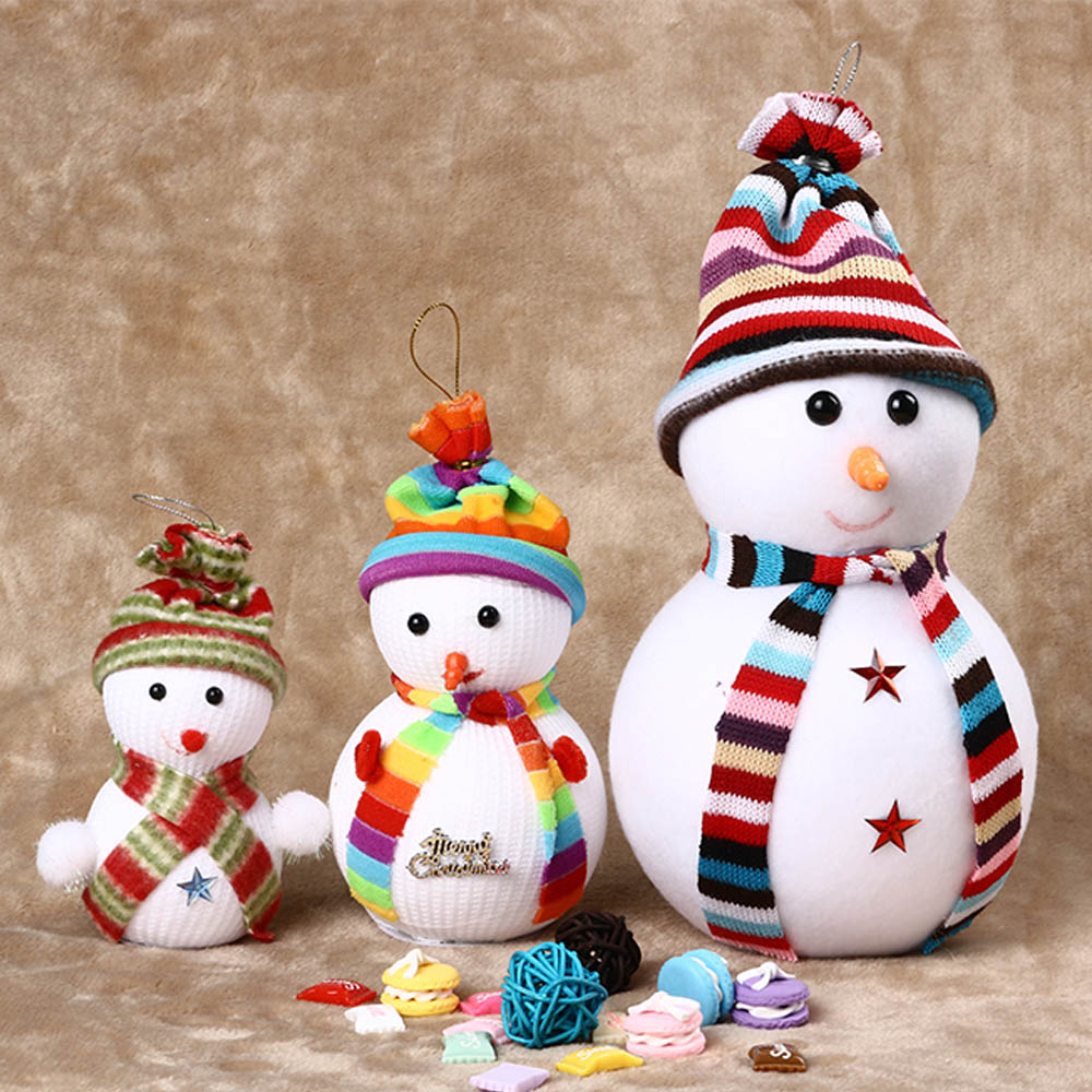 Decorate Christmas Tree Like Snowman: Christmas Decorations Bubble Snowman Christmas Snow Doll