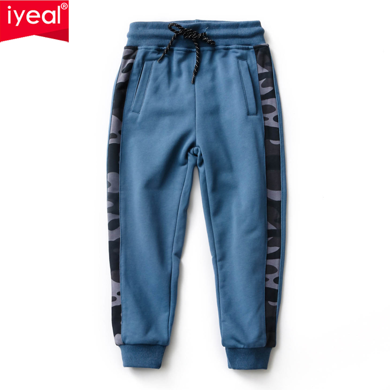 IYEAL 2018 Boys Spring Pants Cotton Print Toddler Baby Clothes Sport Pants Kids Trousers Boys Long Pant for 4 5 6 7 8 9 10 Years print overalls jeans for girls 3 4 5 6 7 8 9 10 11 years 2018 new fashion baby girl fall clothes print jumpsuit long denim pant