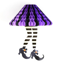 Funny Whimsical Halloween Wicked Witch Legs Socks BootieS Boots Awesome Feet Decor Craft Supplies
