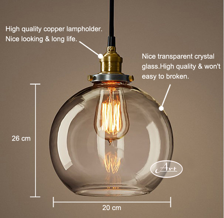 tienda online lmparas de techo modernas edison glass lmpara colgante e v luces colgantes para comedor sala de estar dormitorio lampara