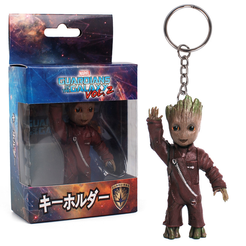 2 POP Guardians of the Galaxy Vol Groot with Candy Bowl 10cm #264 FUNKO FR