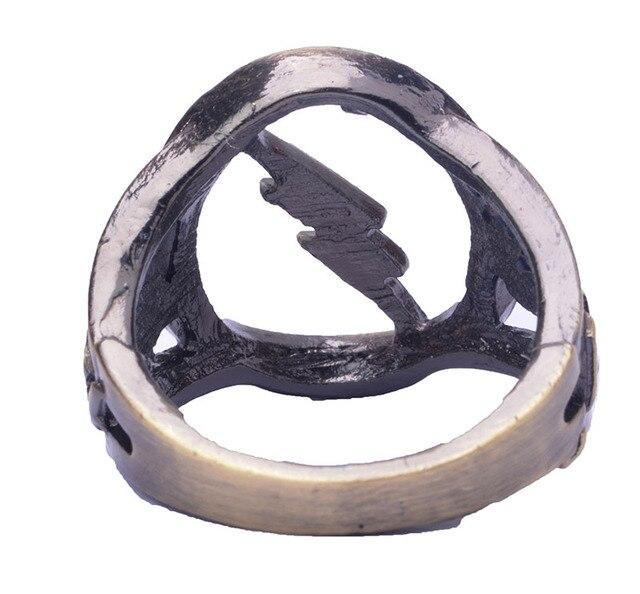 Кольцо с логотипом Флеш DS Comics 4