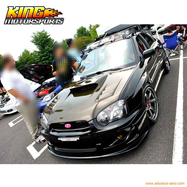 Fit For 04 05 Subaru Impreza WRX Front Bumper Lip Spoiler