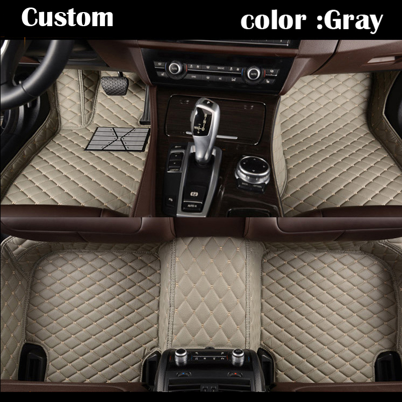 Good quality Custom fit car floor mats for  KIA Sportage 3rd 2011 2012 2013 2014 2015 3D car-styling carpet liners   accessories for audi a3 2010 2011 2012 2013 tailored car floor mats
