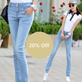 Women Jeans Full stretchy 2016 Hot Sale Style Fashion Quality denim Pants Summer / Spring / Autumn Free Shipping JX-711