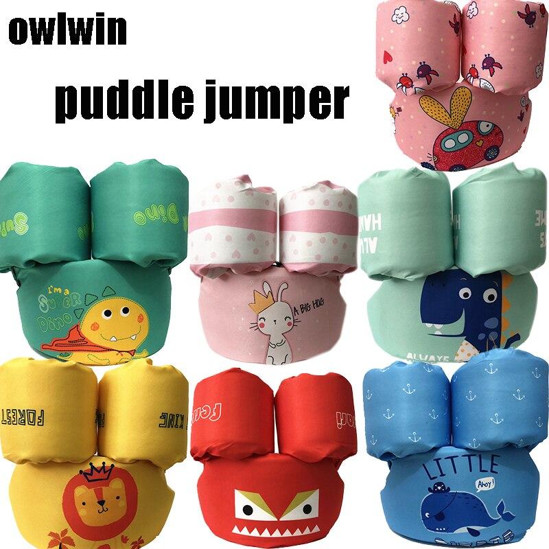 puddle jumper baby life vest child life jacket 2-6 years old boy girl 14-28KG children vest form Foam polyester can be adjusted
