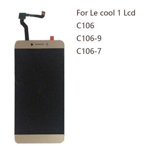 Image 1 - Дисплей 5,5 дюйма для Letv LeEco Coolpad cool1 c106 c106 7 C106 9 C103 R116 ЖК дисплей + сенсорный экран дигитайзер Запчасти для ремонта