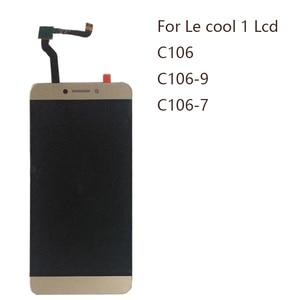 """Image 1 - 5.5 """"ディスプレイ Letv LeEco Coolpad cool1 c106 c106 7 C106 9 C106 8 C103 R116 液晶 + タッチスクリーンデジタイザコンポーネント修理部品"""