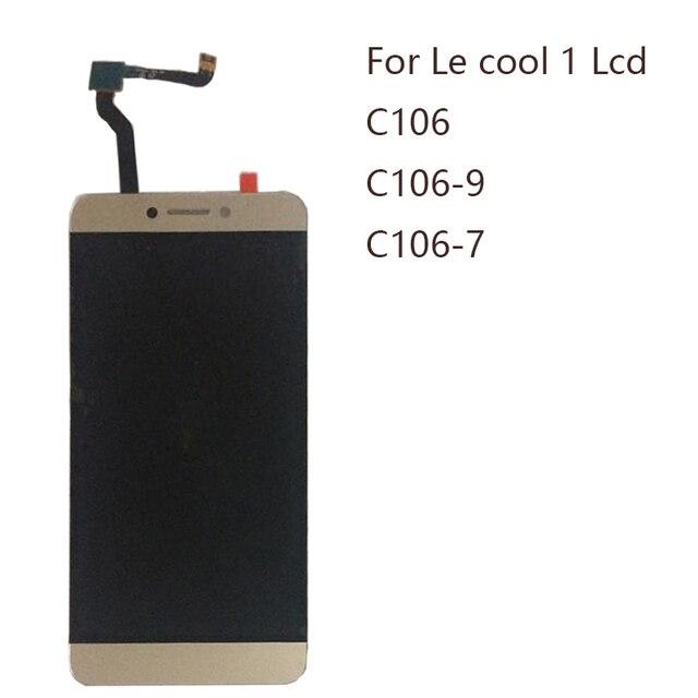 """5.5 """"ディスプレイ Letv LeEco Coolpad cool1 c106 c106 7 C106 9 C106 8 C103 R116 液晶 + タッチスクリーンデジタイザコンポーネント修理部品"""