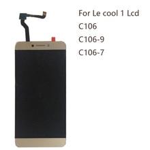 """5.5 """"display per Letv LeEco Coolpad cool1 c106 c106 7 C106 9 C106 8 C103 R116 LCD + touch screen digitizer componente parti di riparazione"""