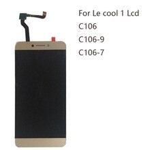 """Pantalla de 5,5 """"para Letv LeEco Coolpad cool1 c106 c106 7 C106 9 C106 8 C103 R116 LCD + digitalizador de pantalla táctil componente piezas de reparación"""