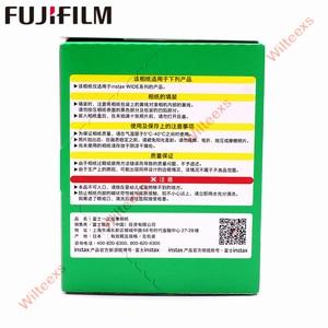 Image 2 - 10 100 fogli Originale Fujifilm Instax Largo Immediata Film Bianco/Arcobaleno/In Bianco E Nero Per Fuji Macchina Fotografica Istantanea 300 /200/210/100/500AF