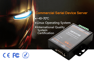 Image 4 - HF5111B Serial Device Server RS232/RS485/RS422 Serial to Ethernet Free RTOS Serial Server F22498