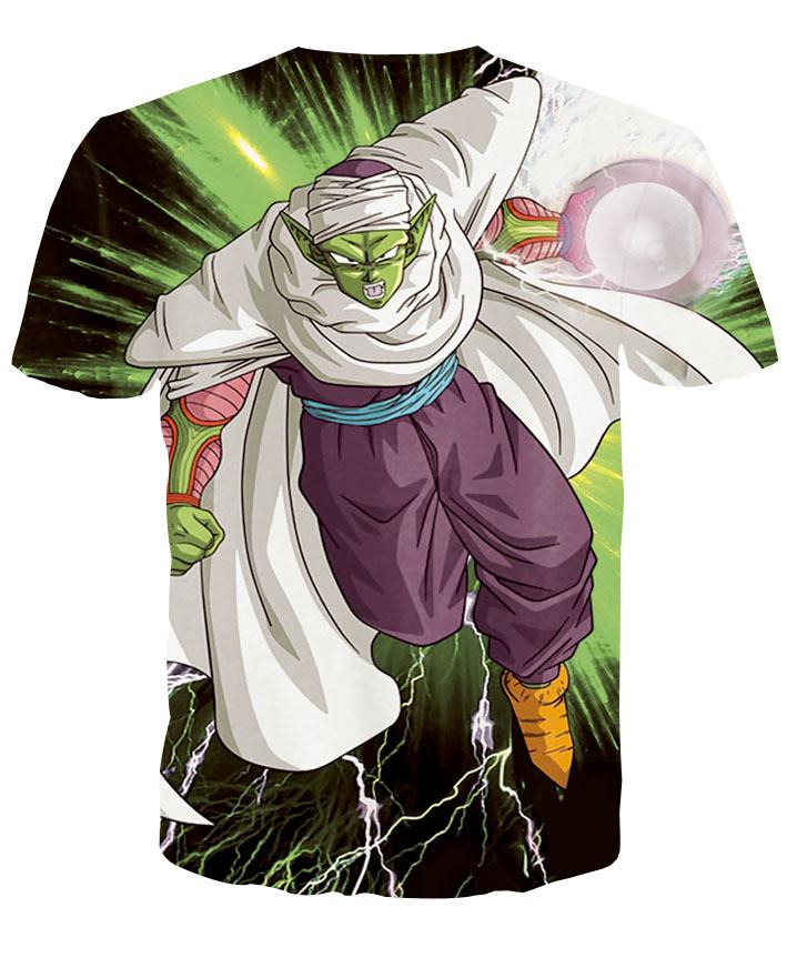 Harajuku classic cartoon dragon ball t shirt super saiyan armour 3d t shirt men anime goku vegeta t shirts DBZ tees summer tops3h