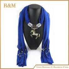 Diy мода ювелирных изделий лошадь ожерелье костюм шарф ювелирные изделия шарф с кисточками бусины бесплатная доставка