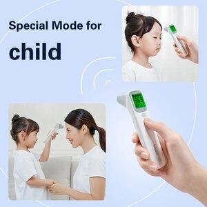Image 5 - Инфракрасный термометр для лба и ушей, цифровой ЖК термометр для измерения температуры тела, бесконтактный термометр для детей и взрослых