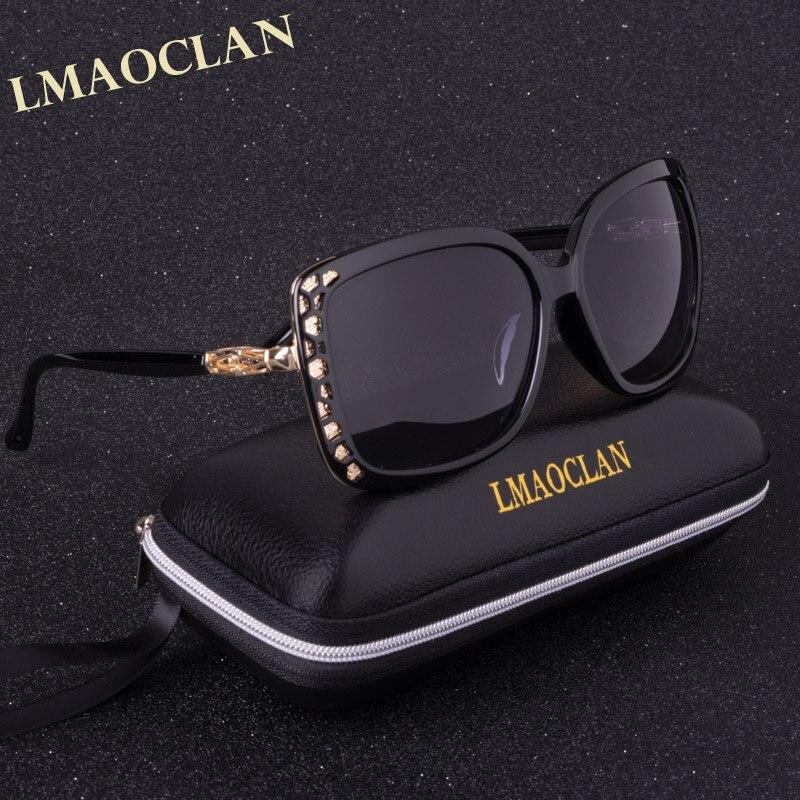 LMAOCLAN Brand Design 2017 Luxury Polarized font b Sunglasses b font Women Ladies Gradient Sun Glasses