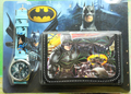 Wholesale 5 set Batman cartoon wallet watches and kids lovely children purse Wristwatch