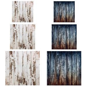 Image 2 - Vintage Retro Holz Planken Textur Fotografie Hintergrund Tuch Für Studio Foto Fotografischen Hintergrund Decor Requisiten